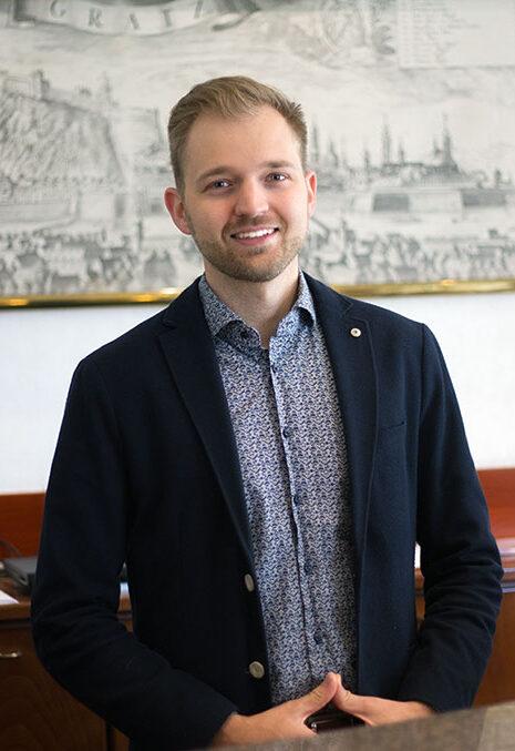 Alexander Gerlach Hotel Gollner Rezeptionsleitung Team Mitarbeiter