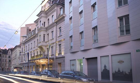 Hotel Gollner Zeitreise Grundstein fuer Modernitaet