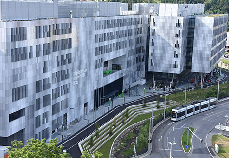 Medizinische Universität Graz nahe Hotel Gollner
