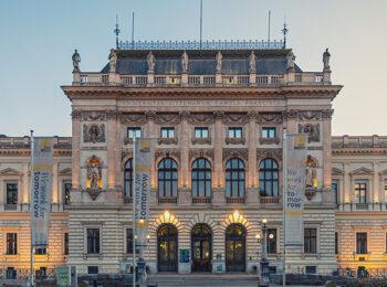 Universität in Graz nahe Hotel Gollner